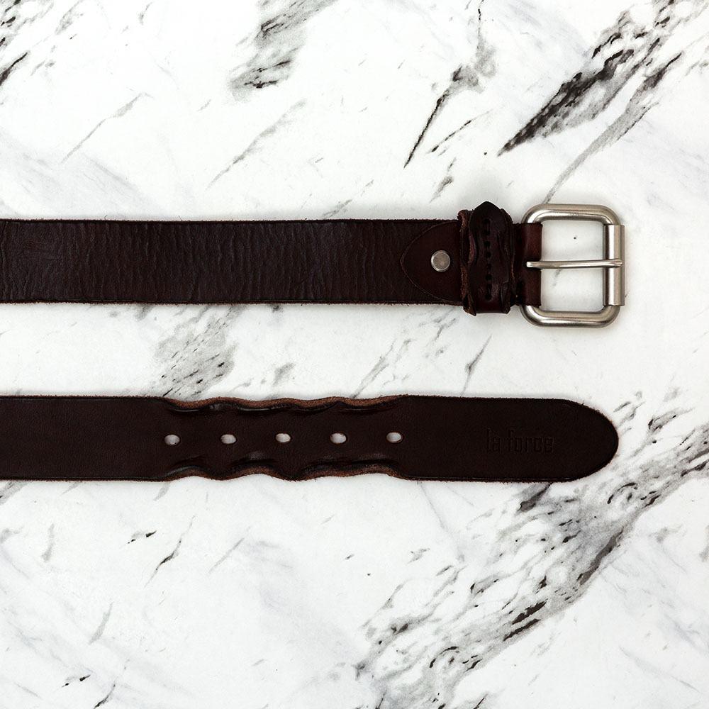 Thắt lưng da bò tạo kiểu phần đuôi DJLA002281-N