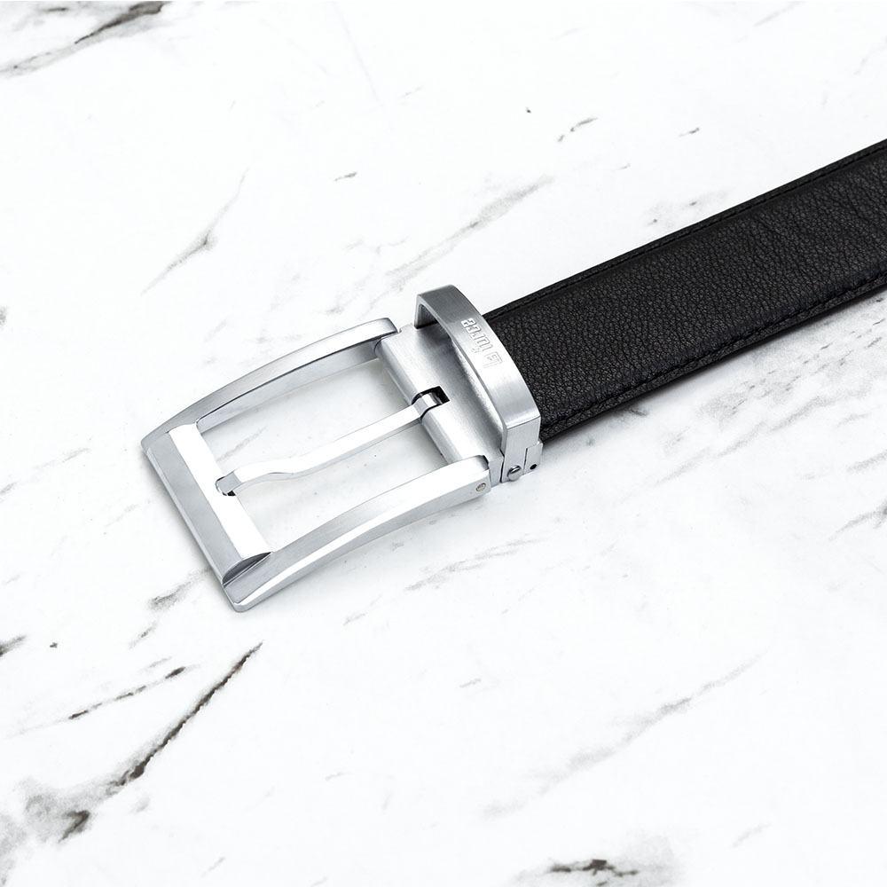 Thắt lưng nam da bò thời trang khóa xỏ kim D590-0180705B