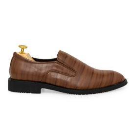 Giày da nam họa tiết vân sọc GNTA5512-N