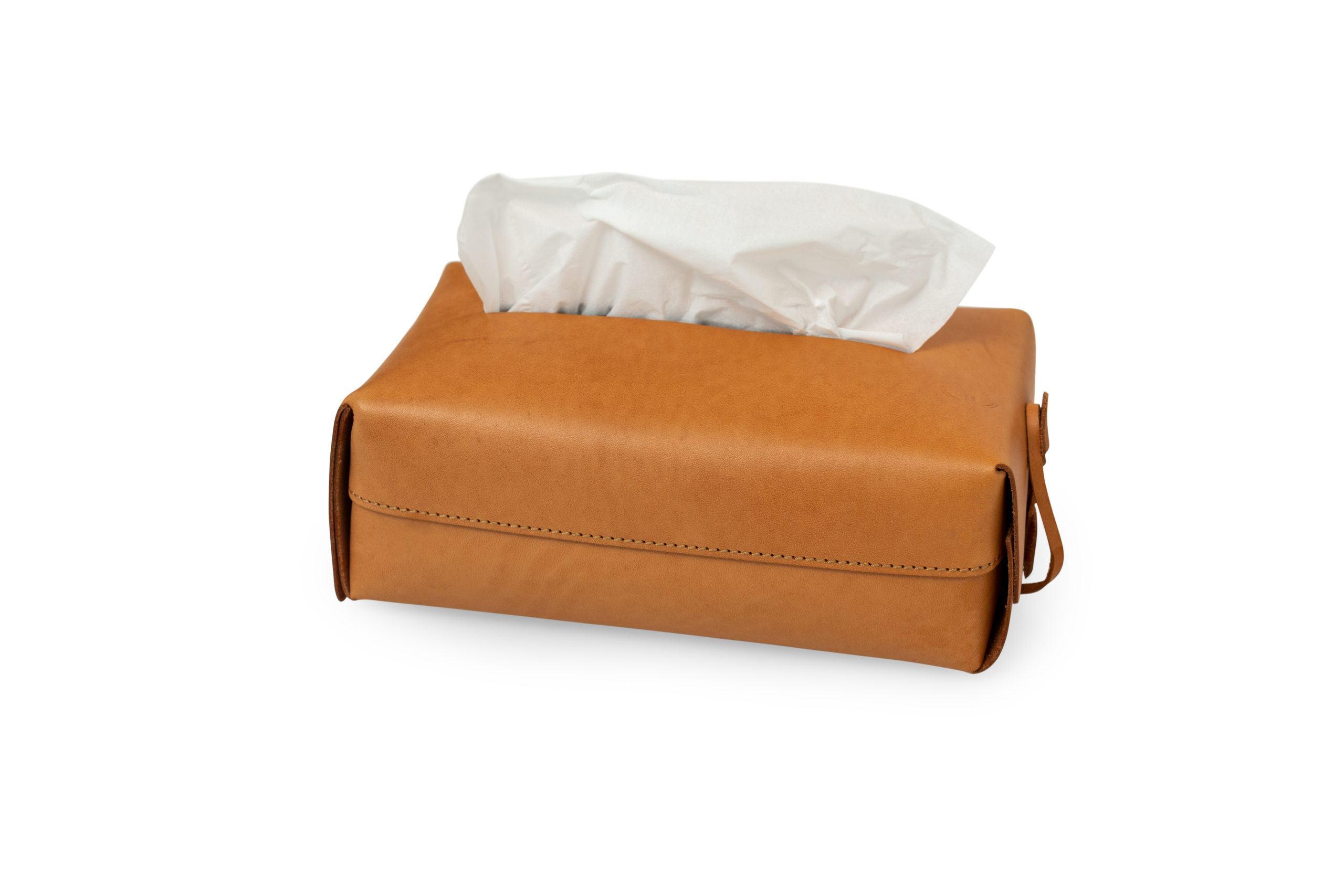 Hộp đựng khăn giấy màu nâu đẳng cấp HKG9079-N