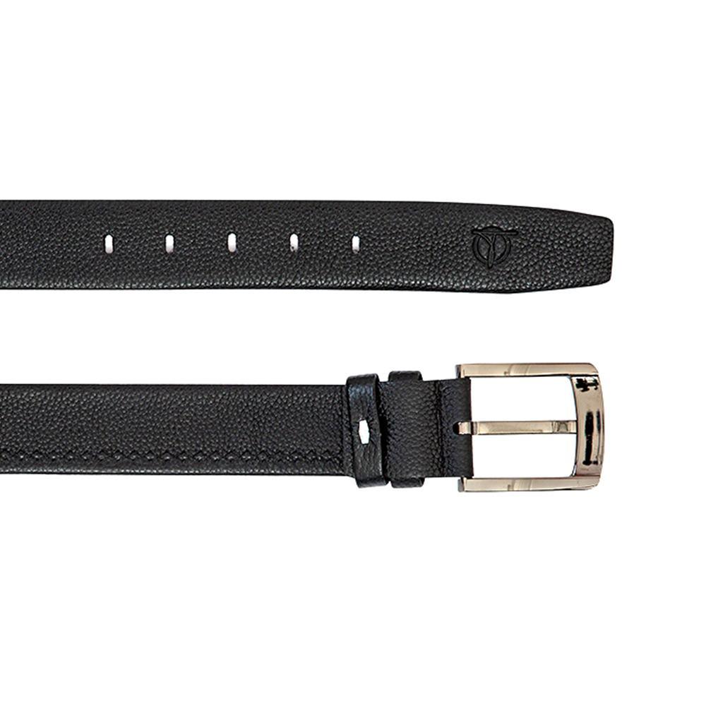 Dây lưng nam da bò thiết kế khóa xỏ kim lịch lãm D310-180908
