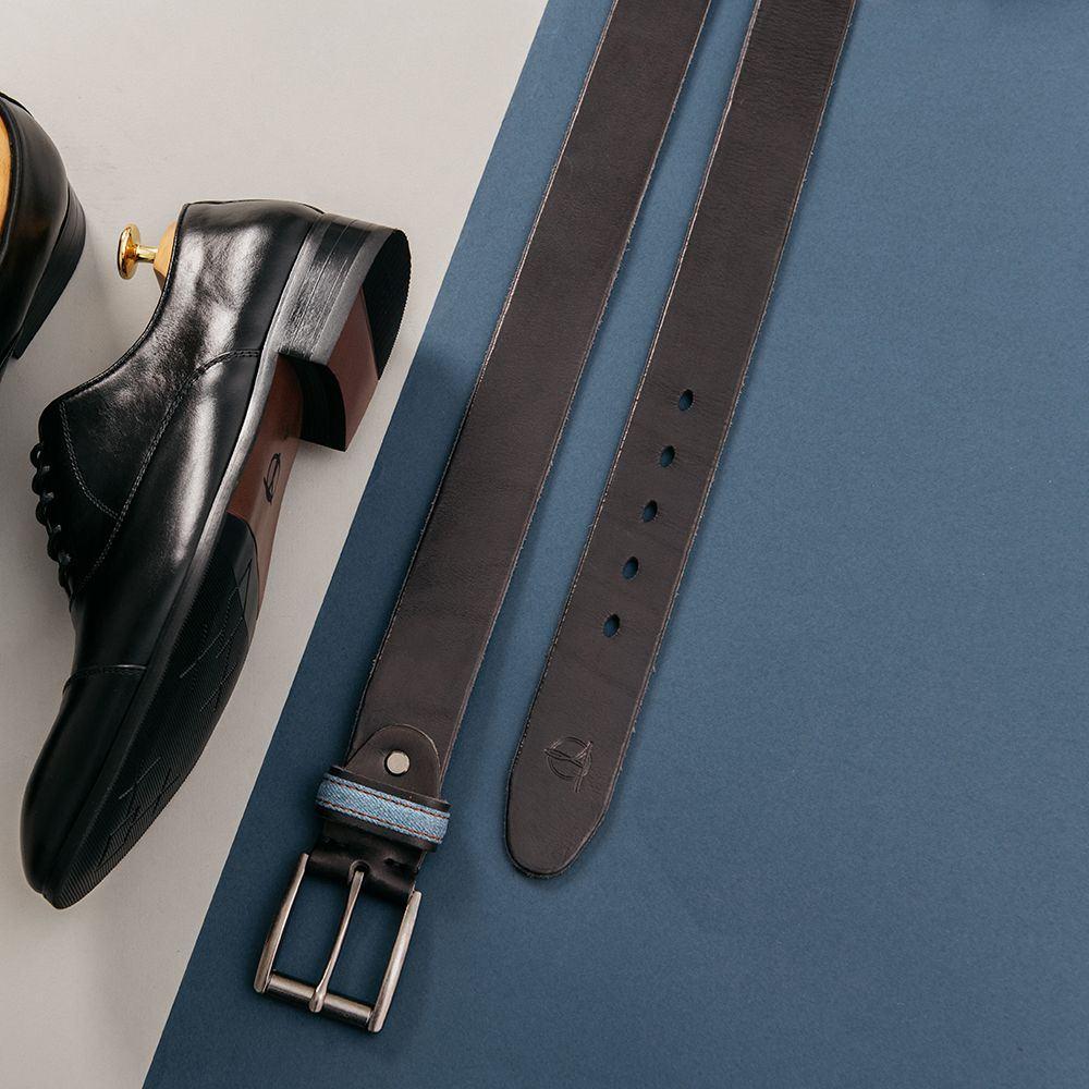 Thắt lưng nam quần jean mặt khóa cài DJ664-D