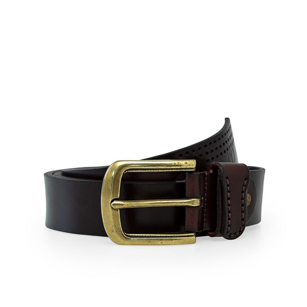 Thắt lưng nam quần jean mặt khóa vàng đồng DJ016-CF