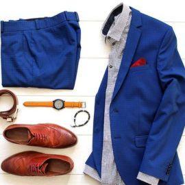 Gợi ý giày nâu phối với suit màu gì?
