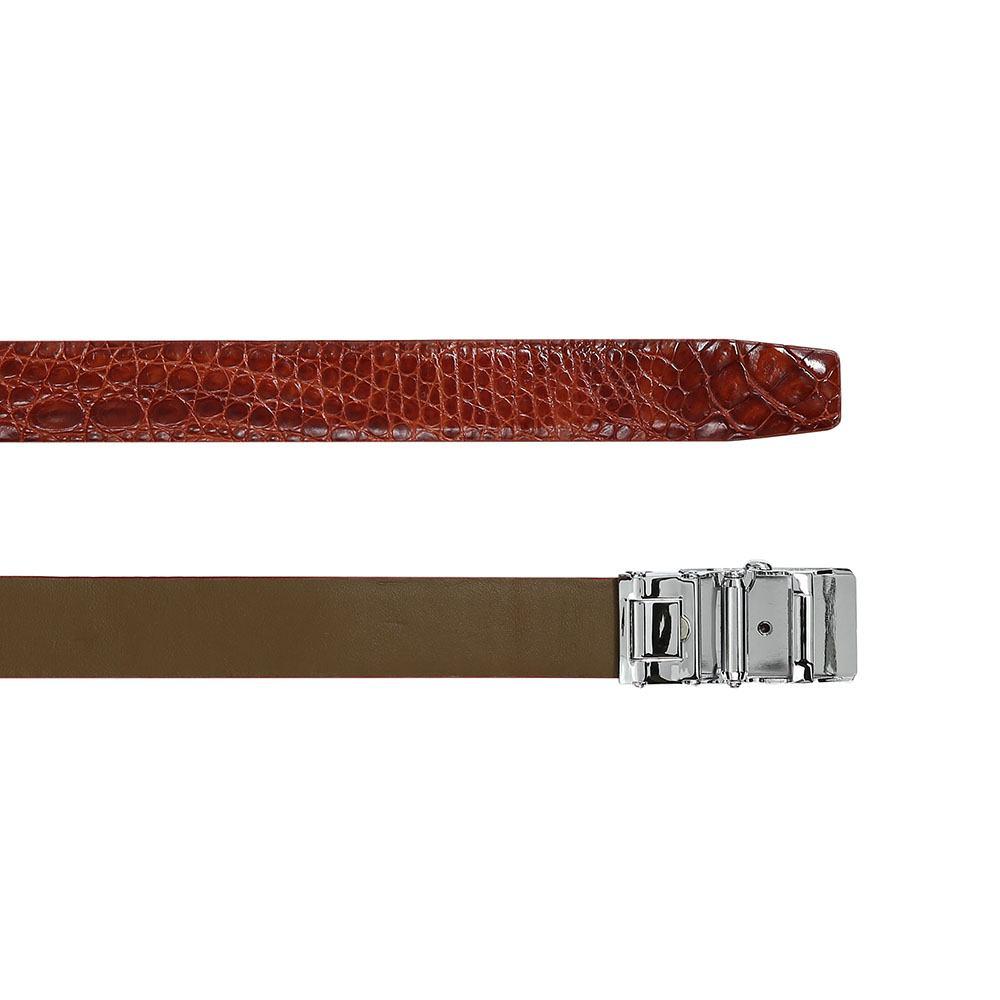 Thắt lưng da chân cá sấu thanh lịch DTA1150-02V-H-ND