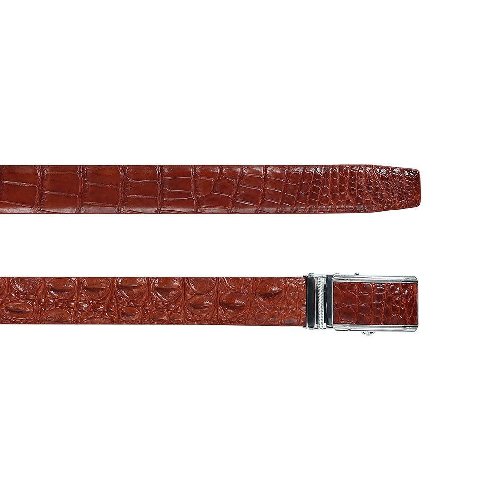 Thắt lưng nam da cá sấu chân bụng DTA1150-02B-L-ND