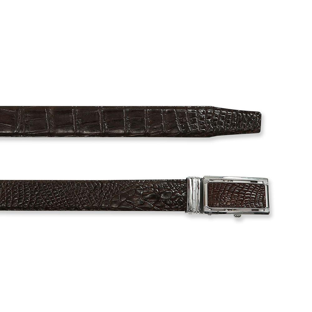 Thắt lưng nam da cá sấu màu đẹp DTA990M-CB-CF