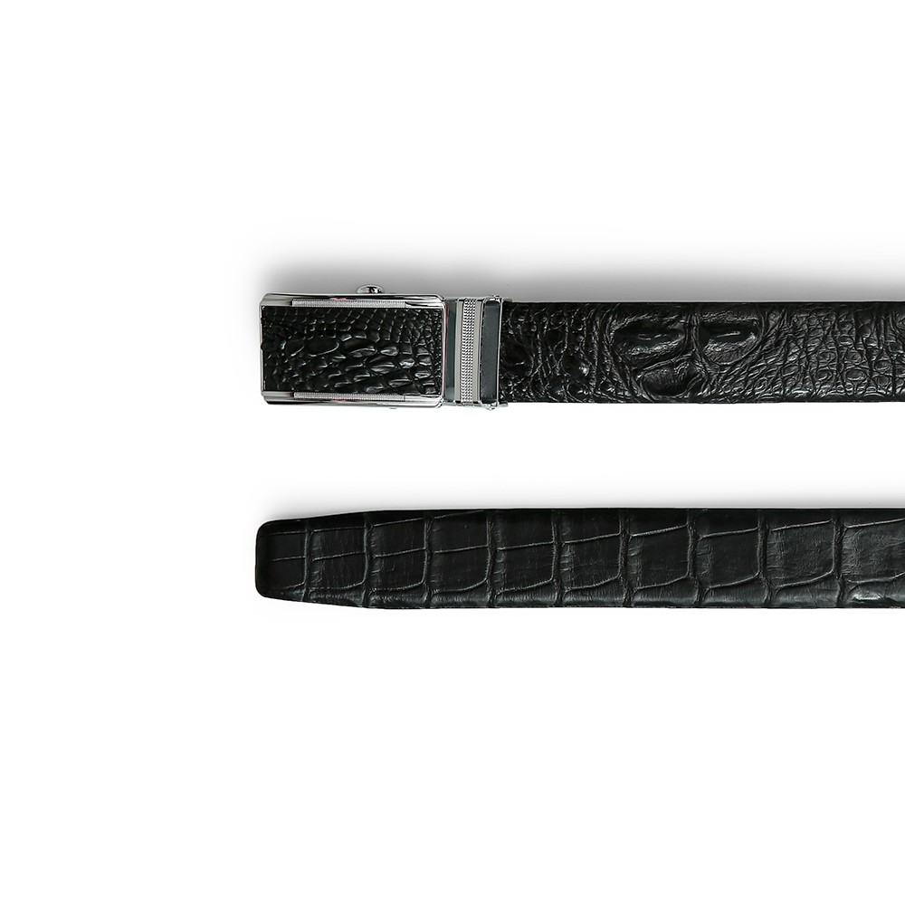 Thắt lưng nam da cấu sấu dây liền phần lưng đuôi bụng DTA1650-02B-G-D