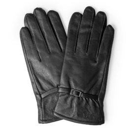 Găng tay da cừu nữ thời trang GTTACUNU-03-D