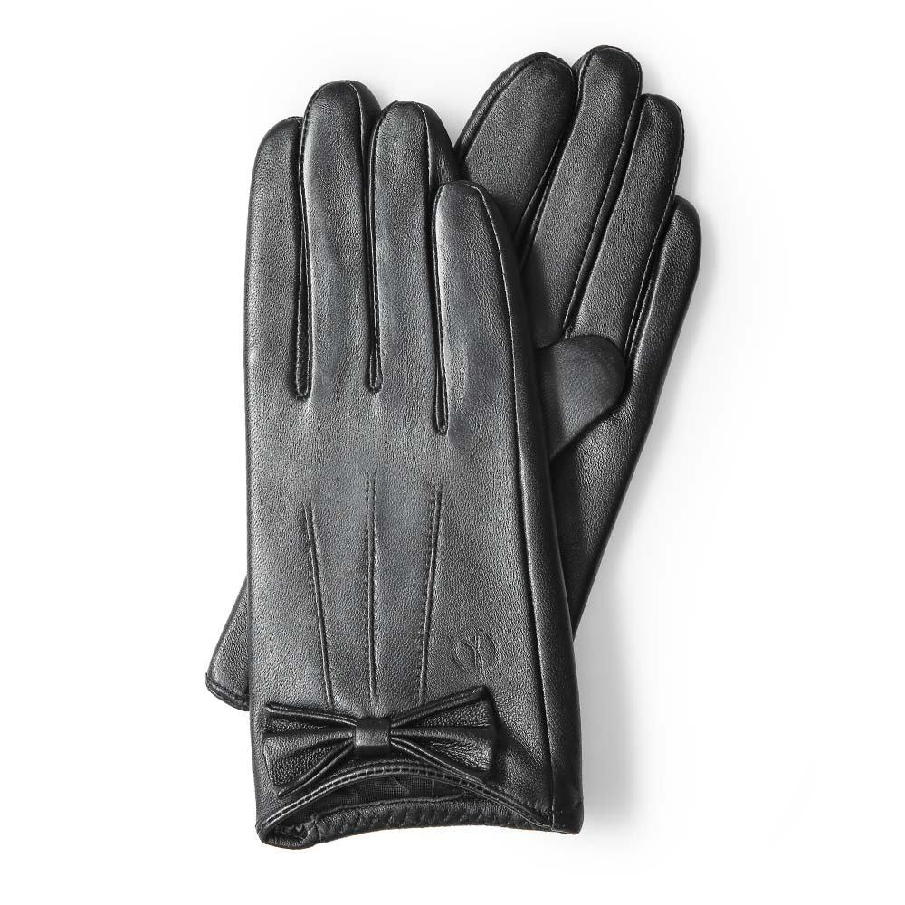 Găng tay da nữ cảm ứng GTTACUNU-04-D