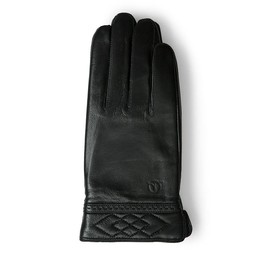 Găng tay nam da thật GTTACUNA-06-D