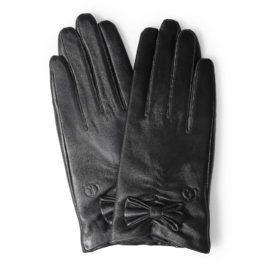 Găng tay nữ da cừu thời trang GTTACUNU-06-D