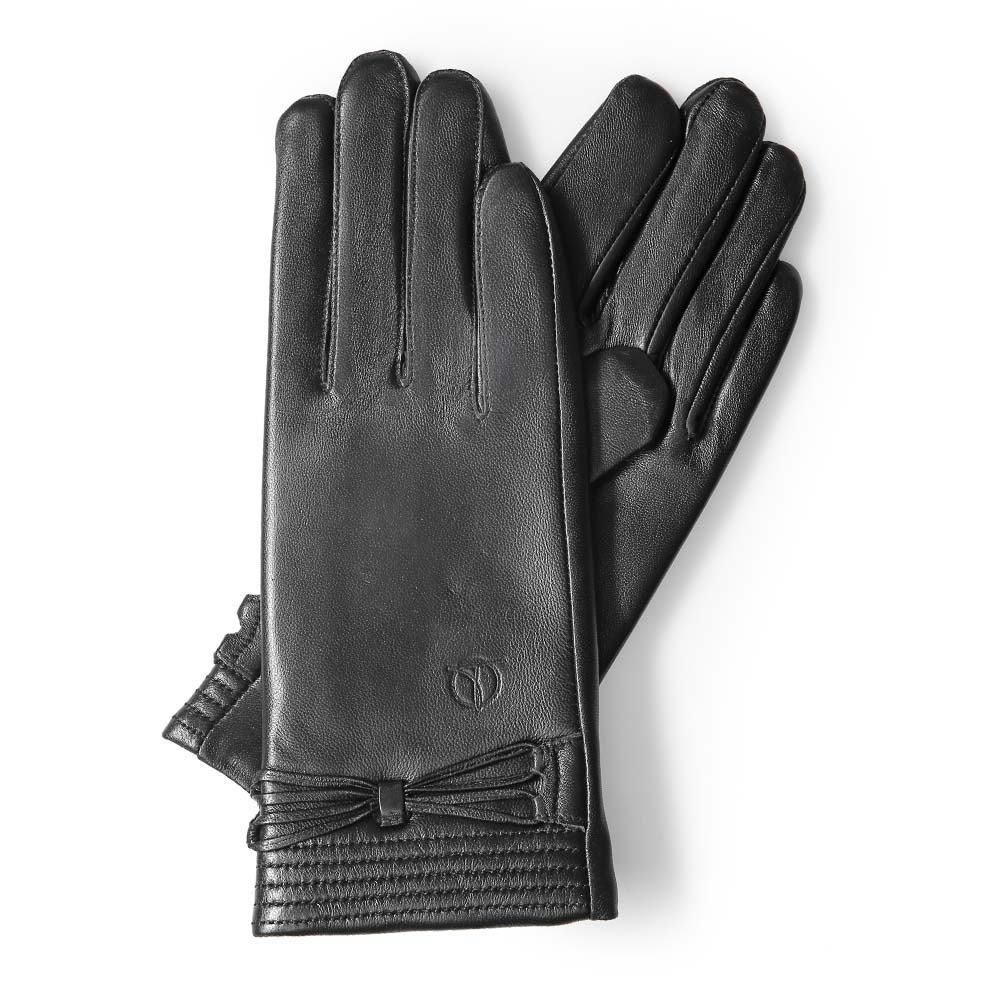 Găng tay nữ da GTTACUNU-07-D