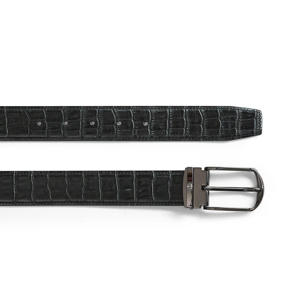 Thắt lưng da nam xịn mặt khóa xỏ kim D480-3162D