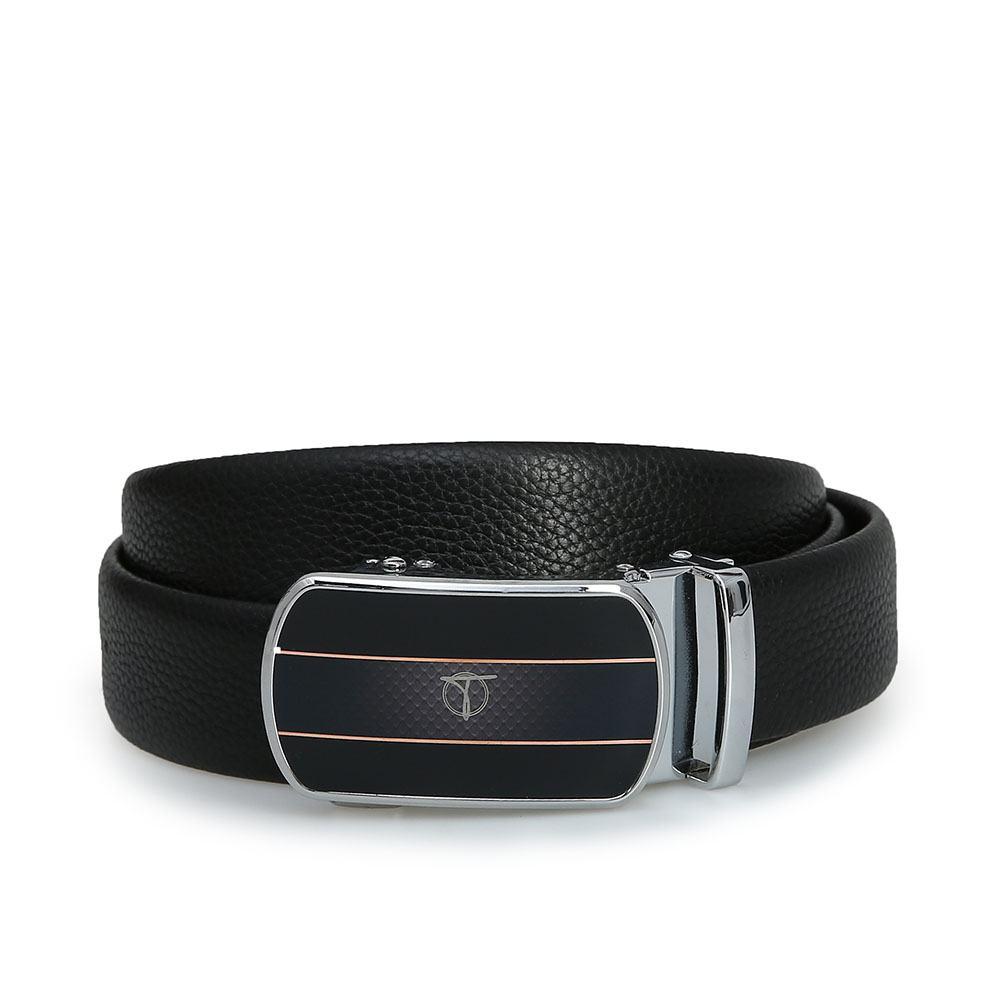 Thắt lưng nam basic mặt khóa bạc D390-201910B