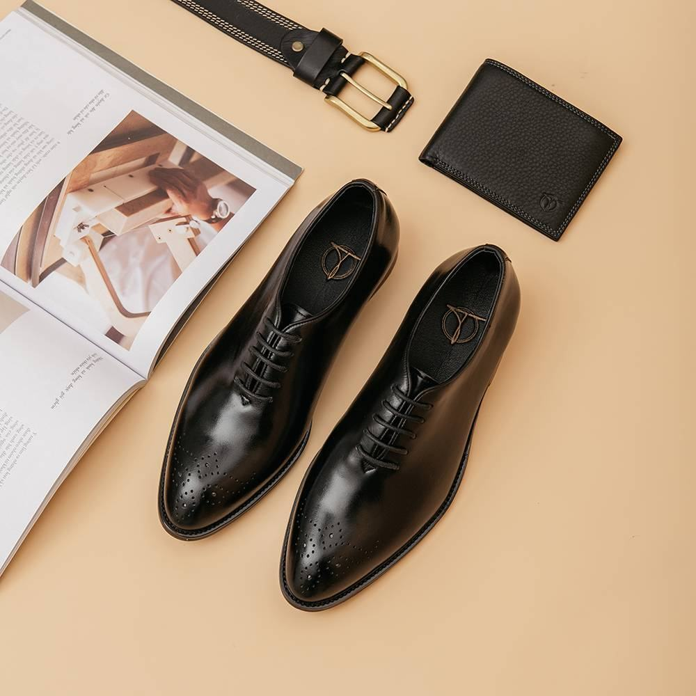 Giày da nam dáng Oxford GNTA01.5-D