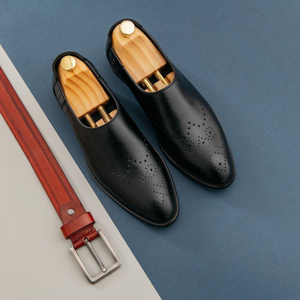 Giày lười nam công sở GNTA66.9-D