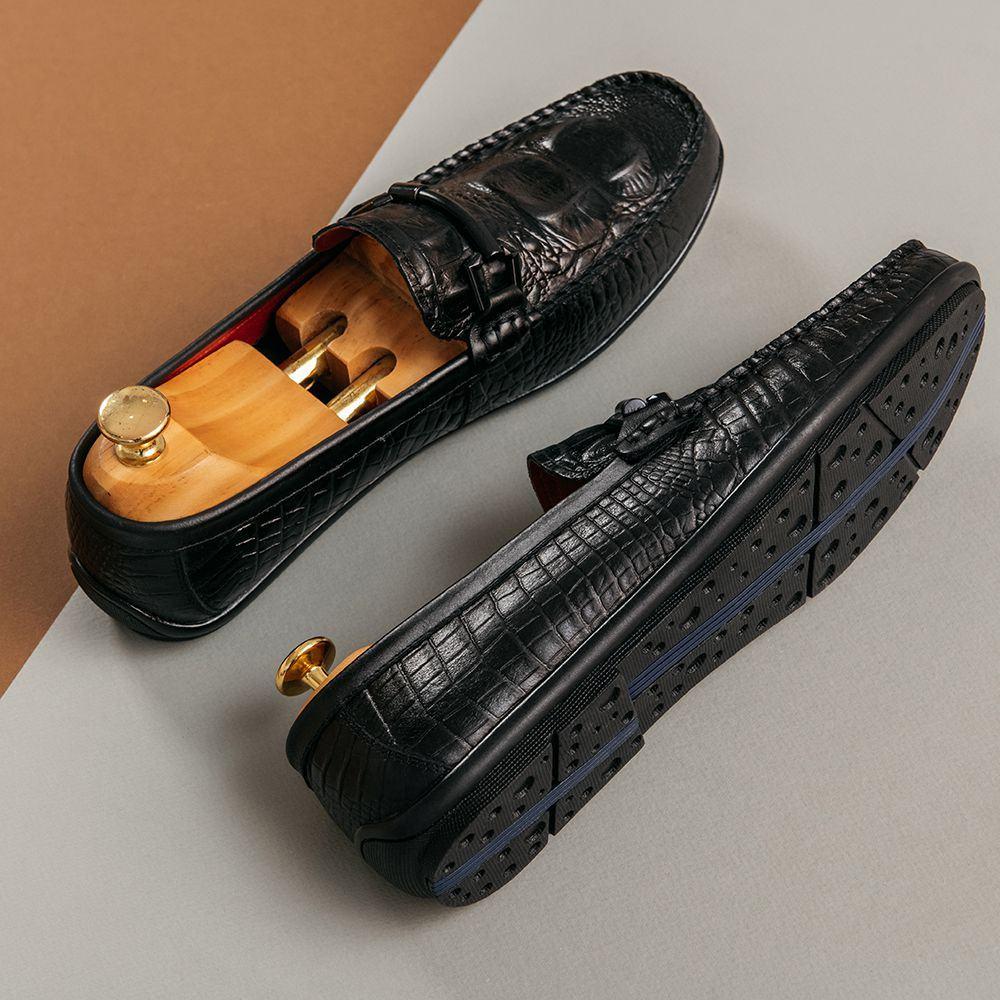 Giày lười nam quai ngang GNTA53.9-D