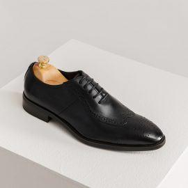 Giày nam dáng Oxford đục lỗ GNTA0122-D