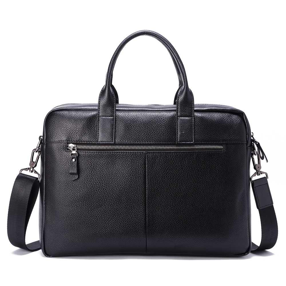 Cặp nam công sở màu đen dáng Briefcase TTA918310106-D