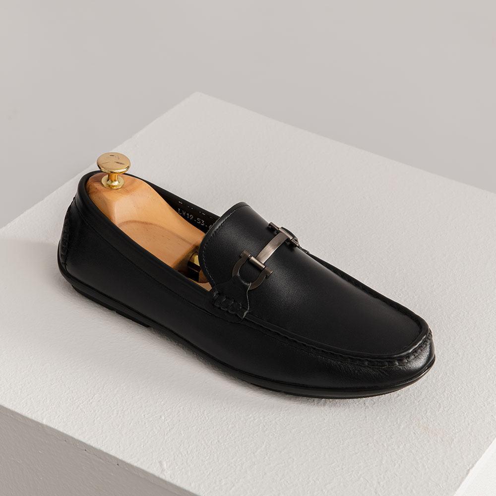 Giày lười nam dáng Moccasin
