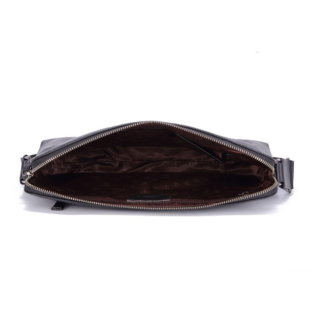 Túi da nam in họa tiết lông vũ chìm TTA918210040-D