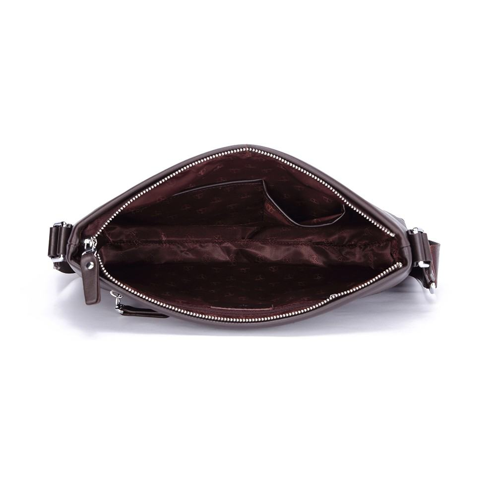 Túi đựng ipad da bò màu nâu TTA917404122-N