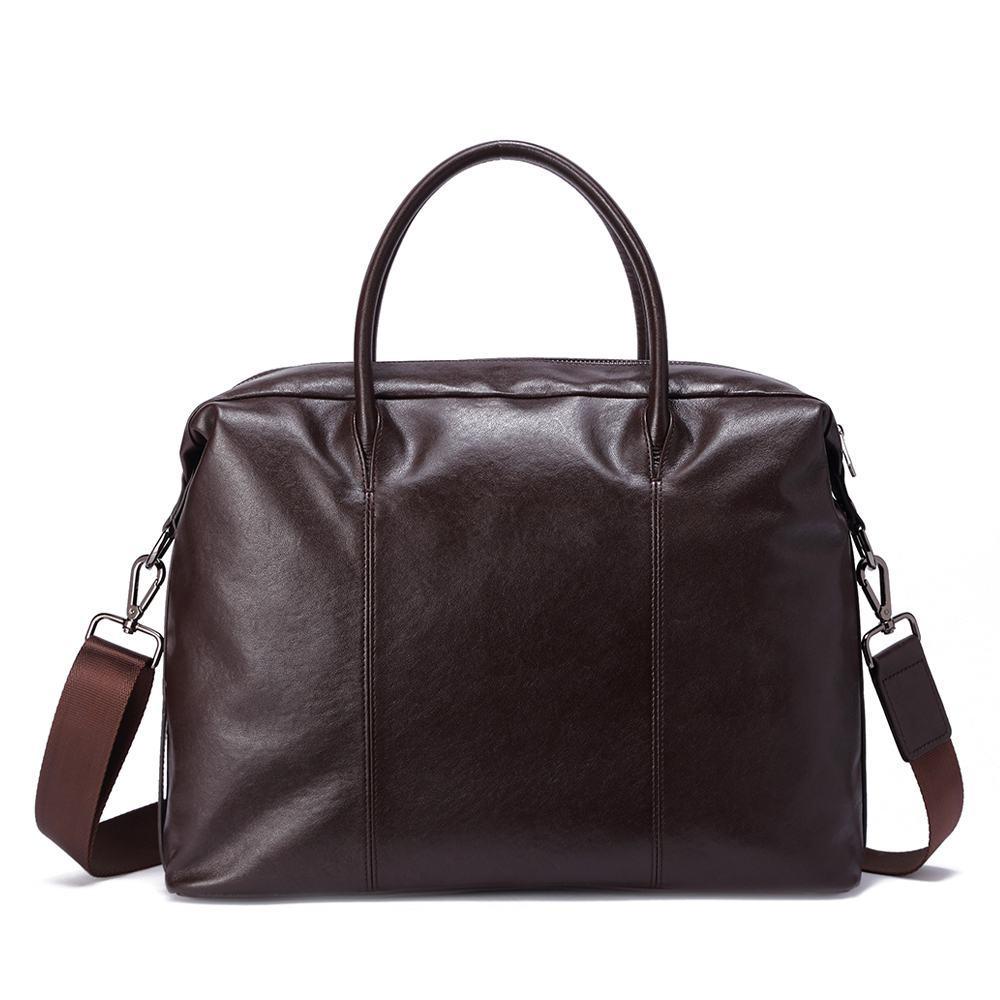 Túi xách dáng Briefcase màu nâu TTA918310092-N