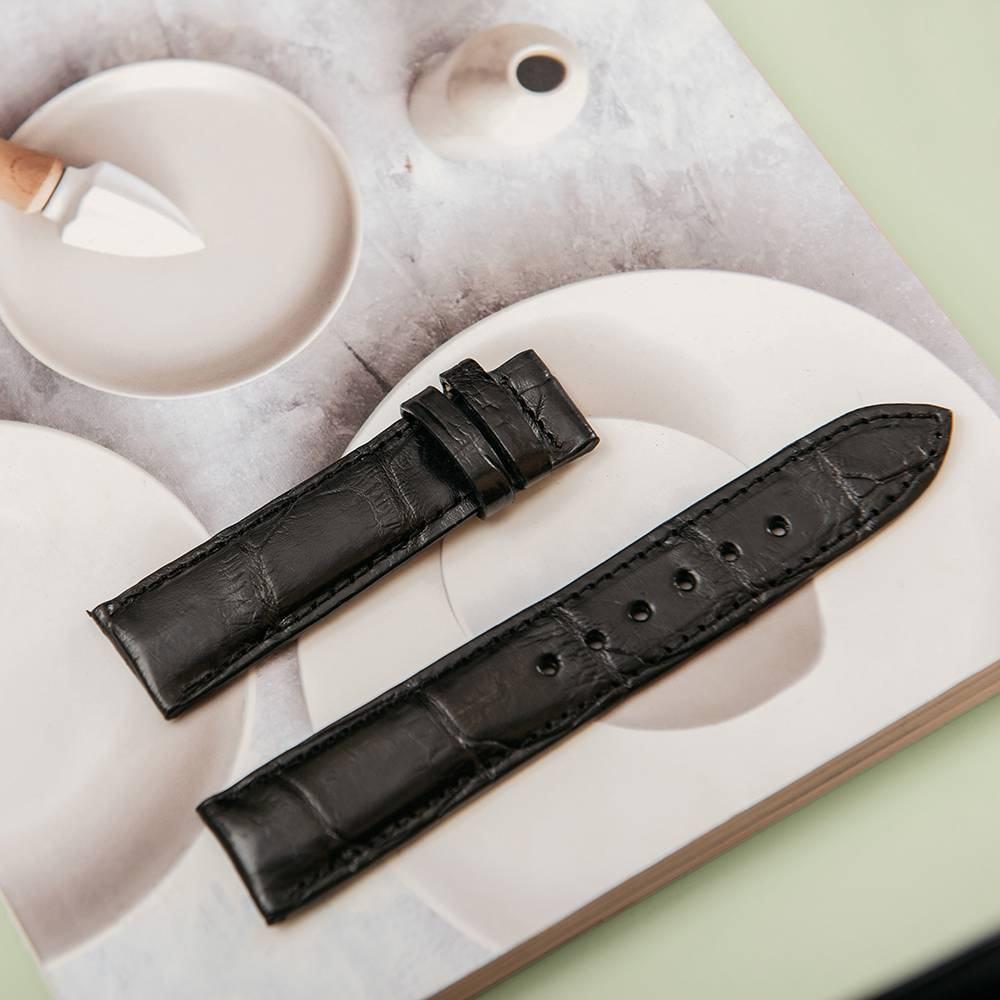 Dây đeo đồng hồ da cá sấu DDHTA-D-MM