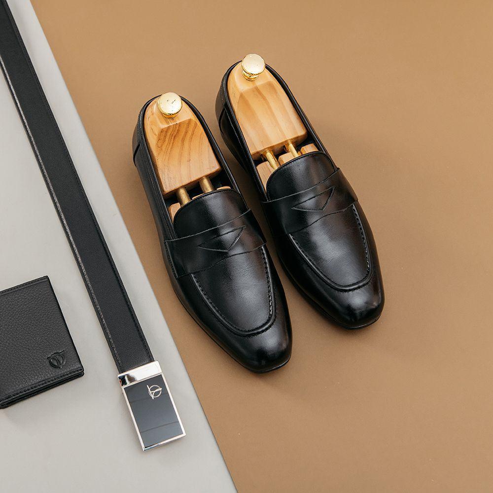 Giày lười nam Loafer GNTA55.2-D