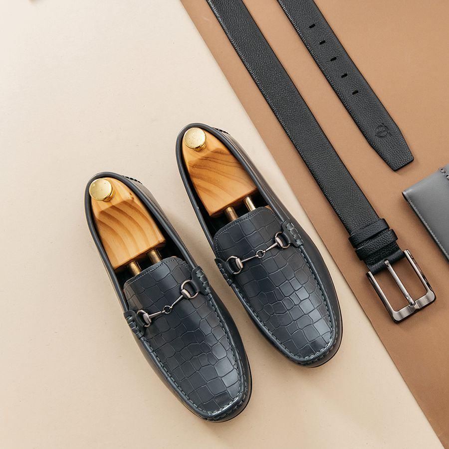 Giày lười nam Moccasin GNTA556-XA