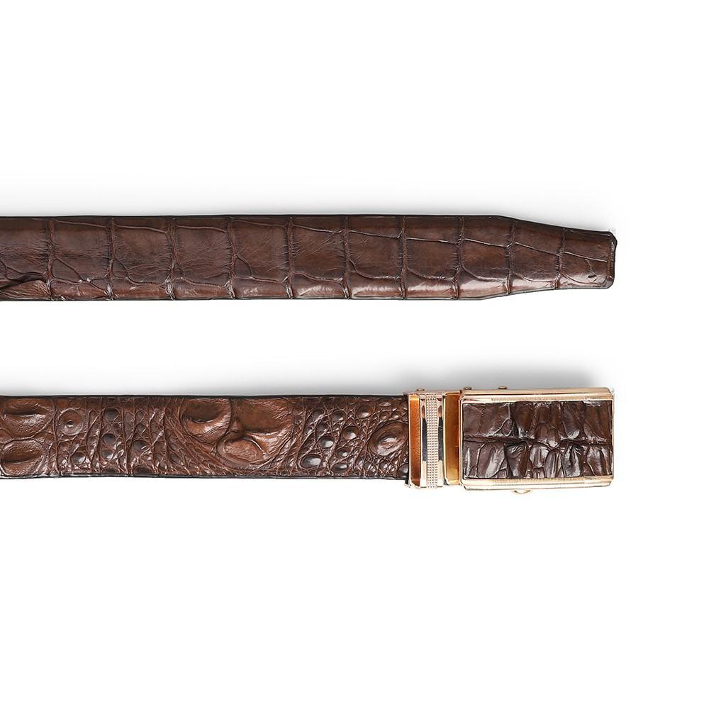 Dây da cá sấu lưng đuôi bụng DTA1390-02V-G-CF