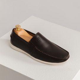 Giày lười nam công sở đế chống trơn GNTA190904-N