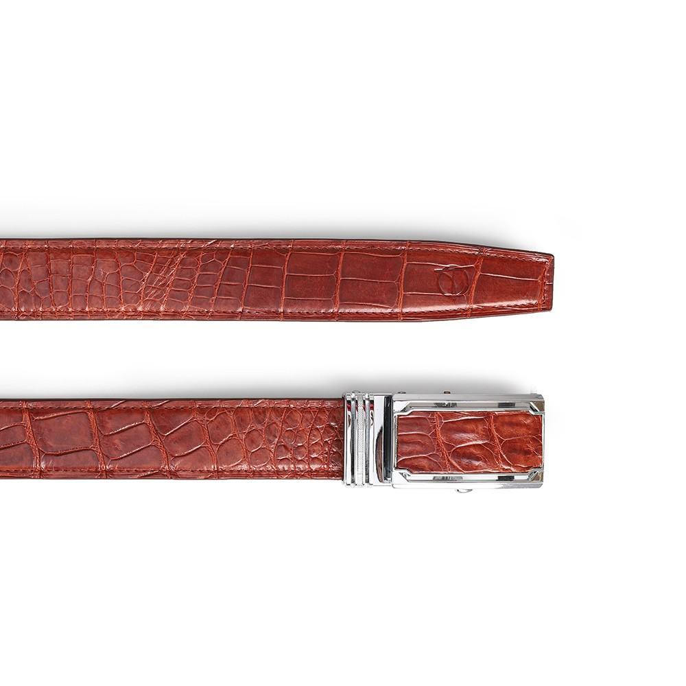 Thắt lưng da bụng cá sấu DTA1100-03B-B-ND
