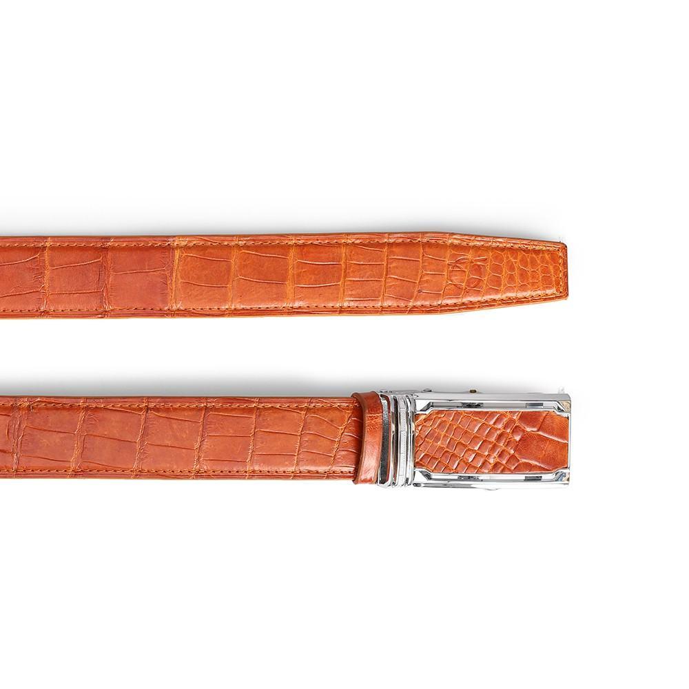 Thắt lưng da bụng cá sấu DTA1100-03-B-NV