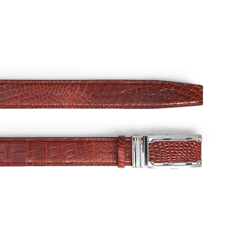 Thắt lưng da cá sấu chân bụng DTA1100-03B-B-ND