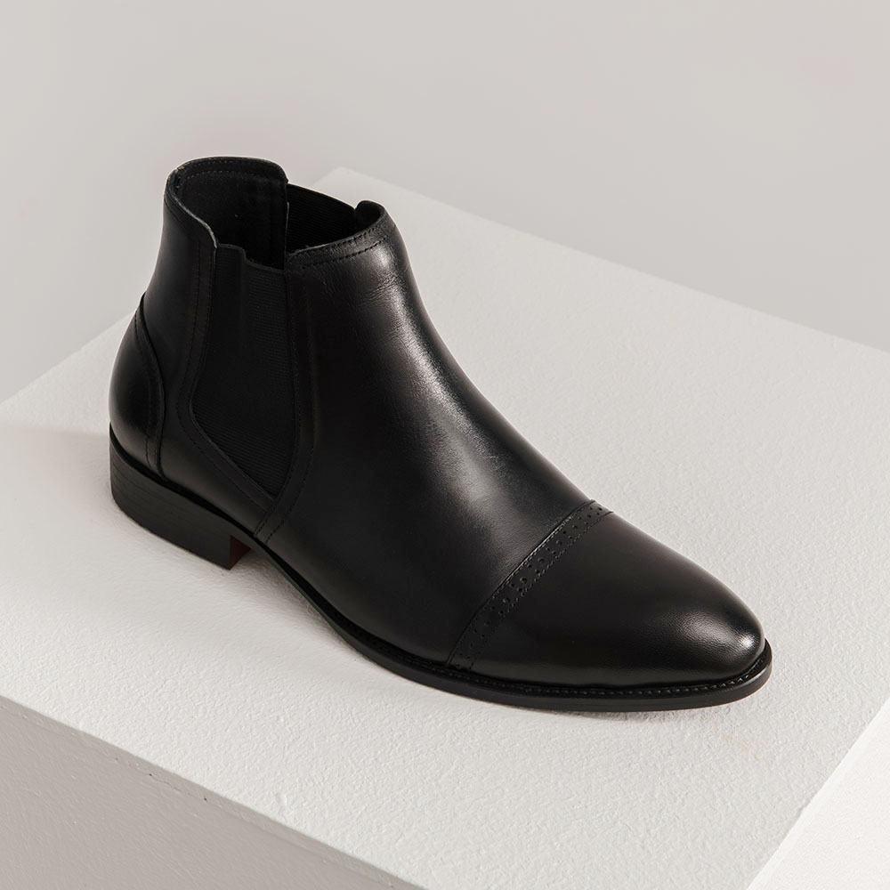 Giày da nam Chelsea Boot GNTA6232-D