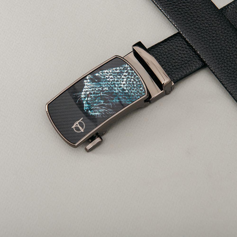 Thắt lưng nam mặt khóa báo đốm D390-2019112