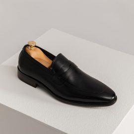 Giày da đẹp nam mũi nhọn lịch lãm GNTA8893-D