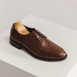 Giày tây nam công sở màu cafe GNTA1863-CF
