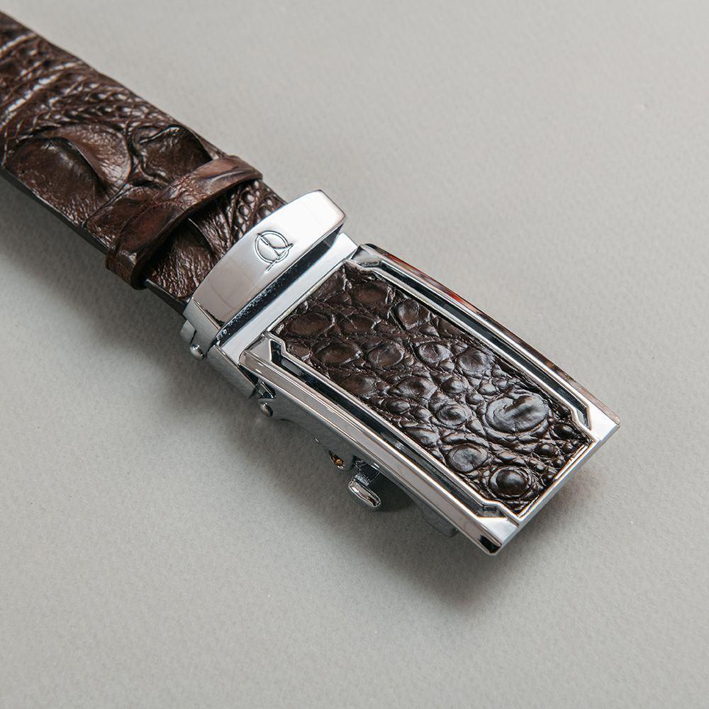 Thắt lưng nam công sở lưng cá sấu nối bản 3.5 cm DTA1100-07B-L-CF