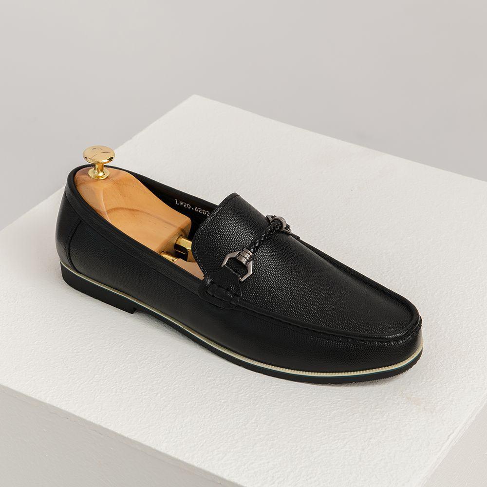Giày lười nam mũi tròn GNTA6202-D