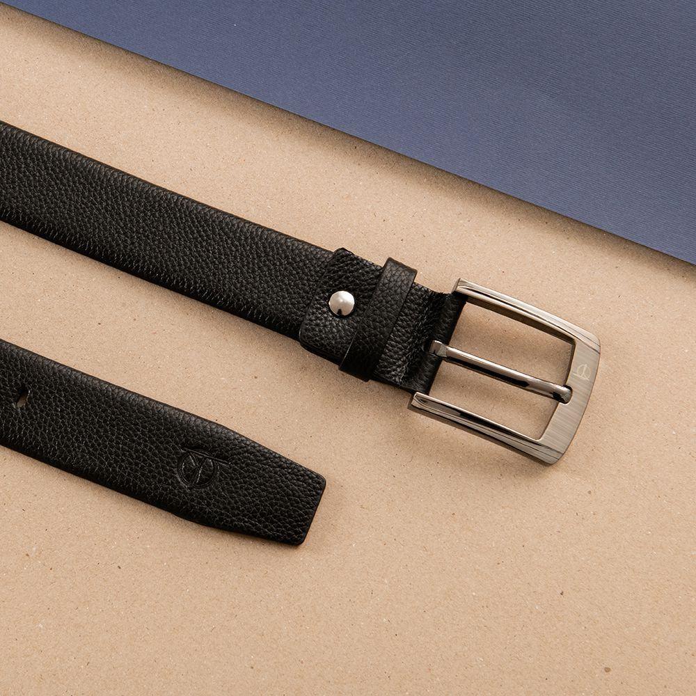 Thắt lưng da nam khóa vuông xỏ kim D310A-04