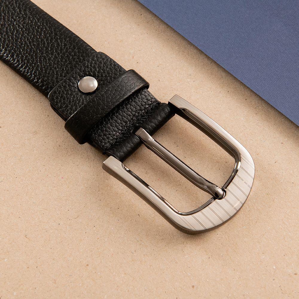Thắt lưng da nam mặt khóa xỏ kim D310A-02
