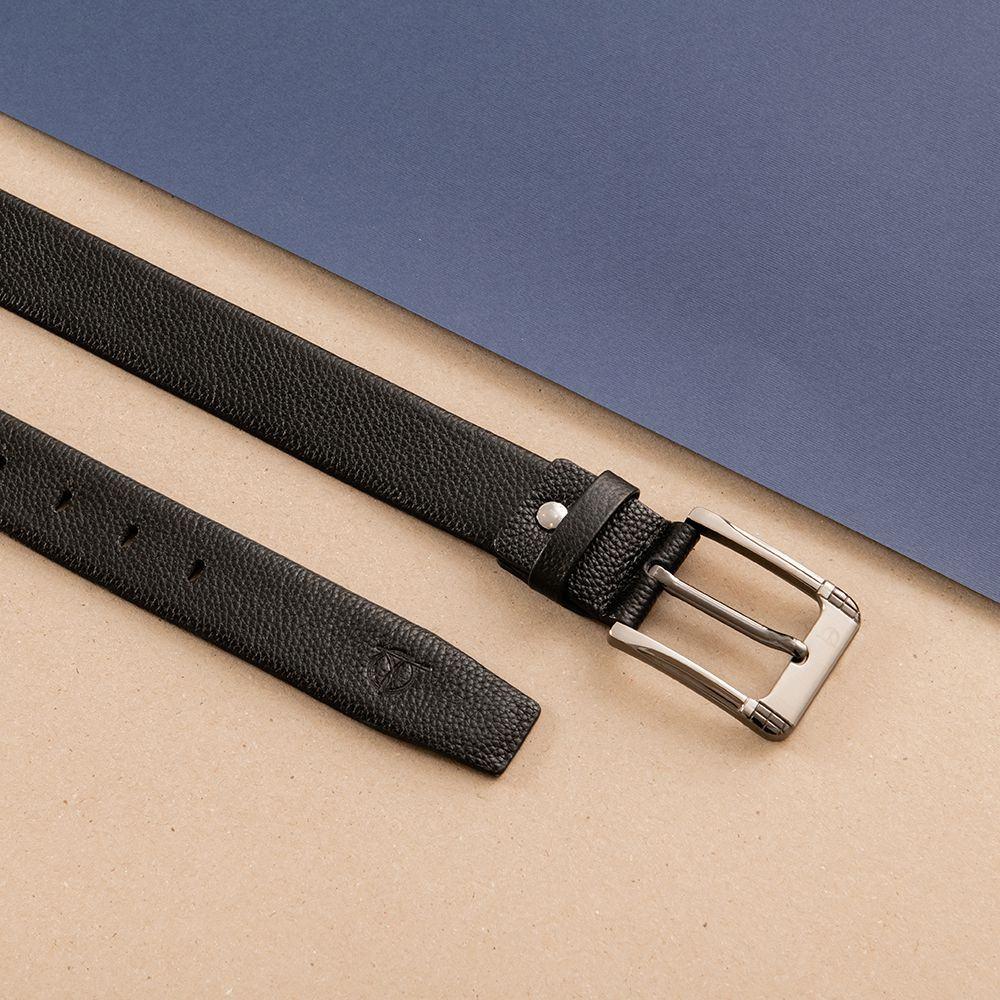 Thắt lưng nam mặt khóa nổi bo góc D310A-07