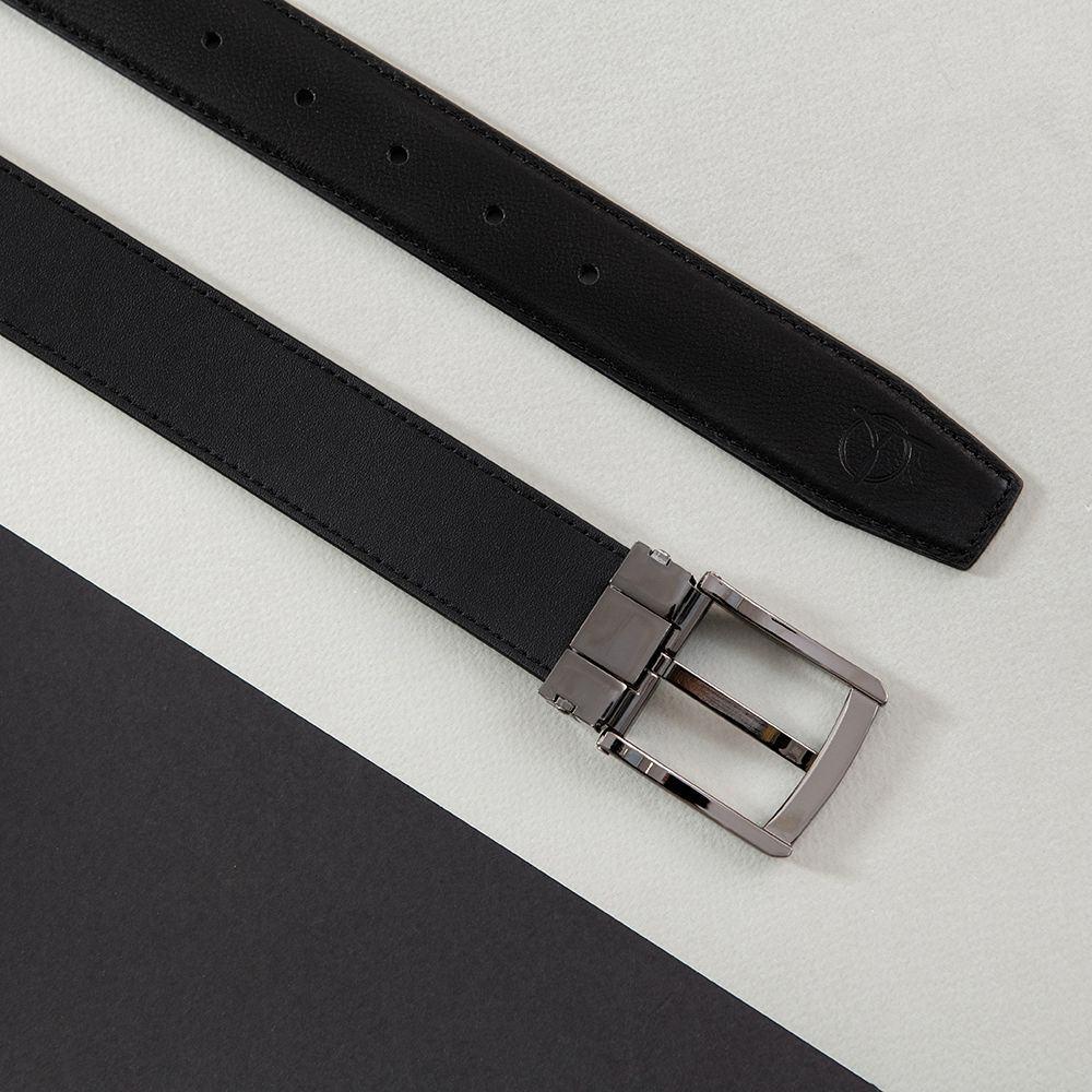 Dây lưng da bò khóa xỏ kim D480-1332-1-RF