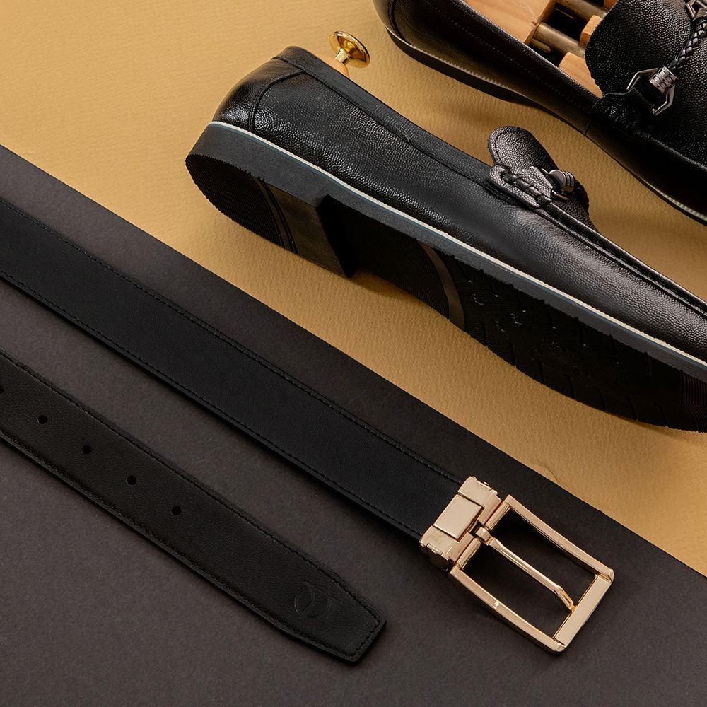 Dây lưng nam đẹp mặt khóa vàng D480-1356-RF