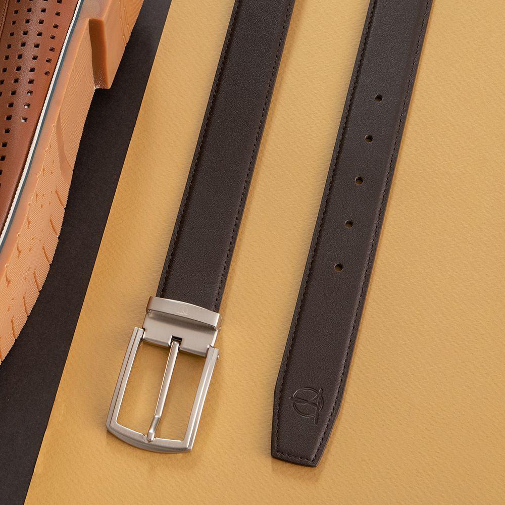 Dây thắt lưng da bò nam khóa cài D480-1328-RF