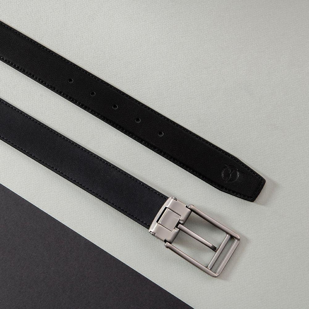 Thắt lưng da bò khóa cài D480-1333-RF