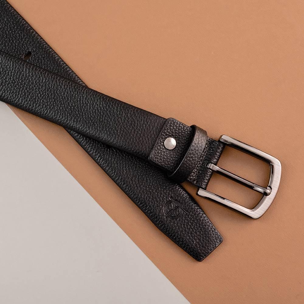 Thắt lưng da đẹp khóa vuông dành cho nam D310A-08